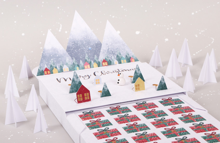 One We Made Earlier - Pop-up Advent Calendar