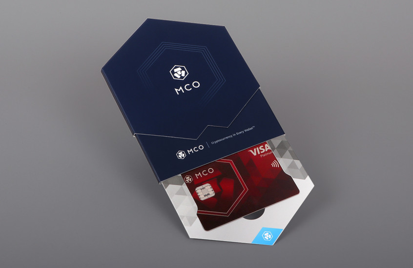Crypto.com - Payments Card Packaging