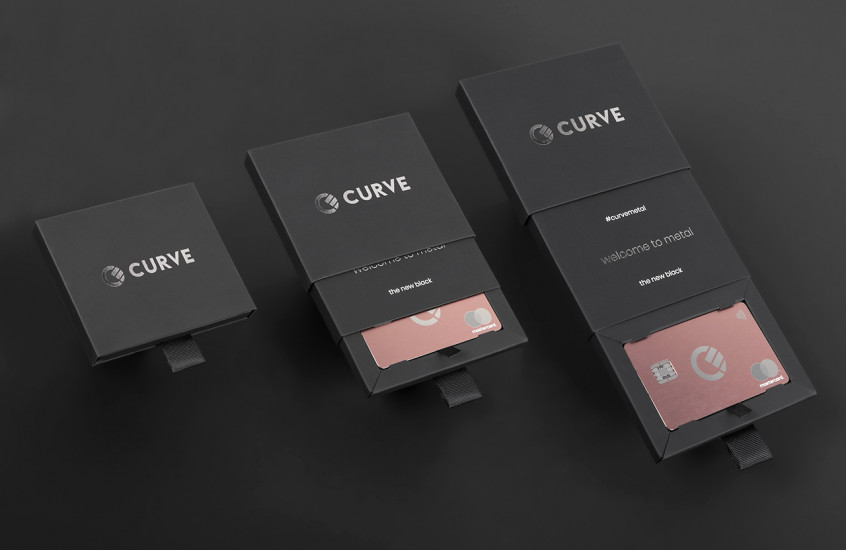 Curve - Metal Payments Card