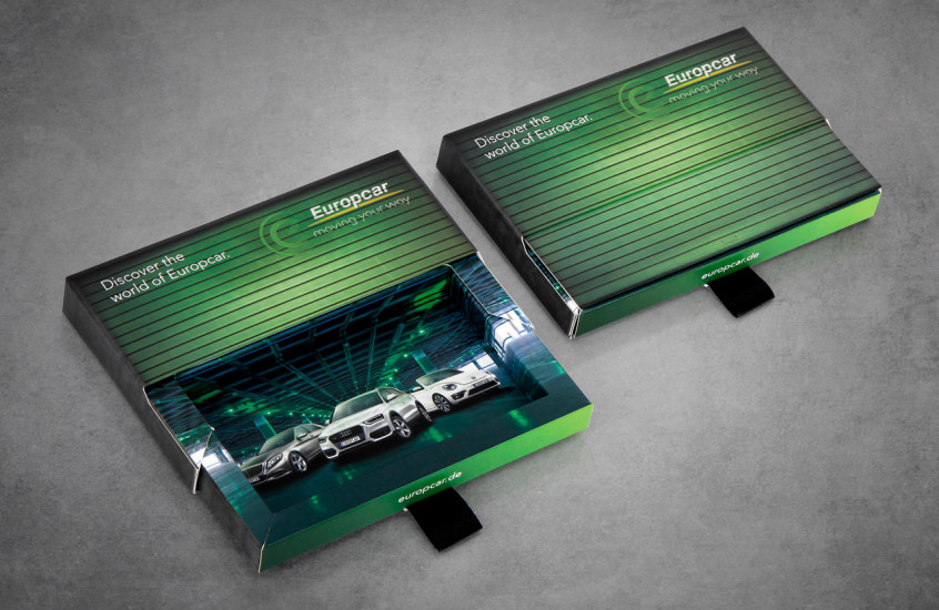 Europcar - Car Hire Promotion — A design to promote Europcars car hire services.