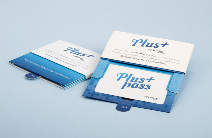 Payment Sense - Plus+ Pass — Rewards card for Paymentsense customers.