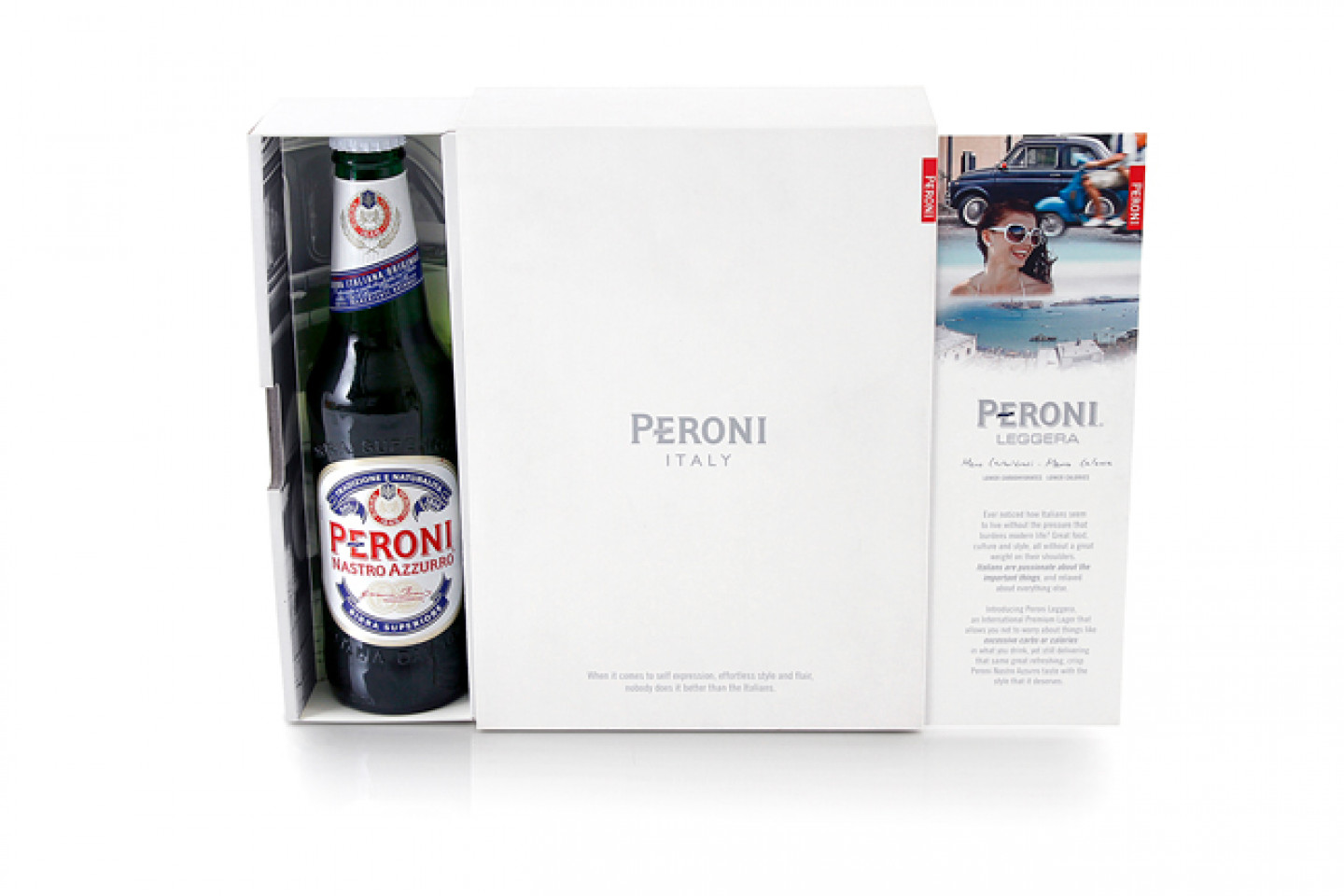 Peroni - Promotional Bottle Set