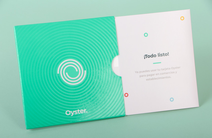 Oyster - Bank Card