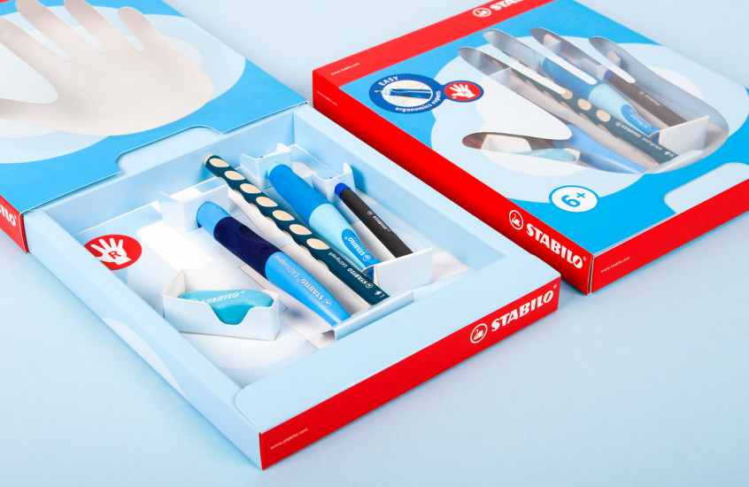 Stabilo - Stationery Collection — Fun filled packaging for a collection of stationery.