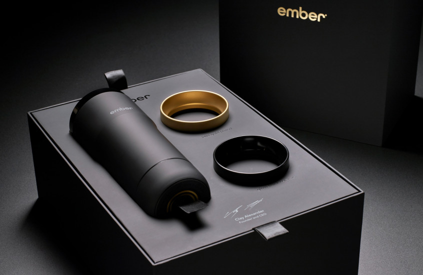 Ember - Smart Travel Mug — Luxury packaging for Ember's Travel Mug