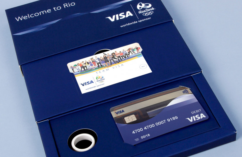 Visa - Rio Olympic Smart Ring & Card — 2016 Rio Olympics athlete Smart Ring and payment card.