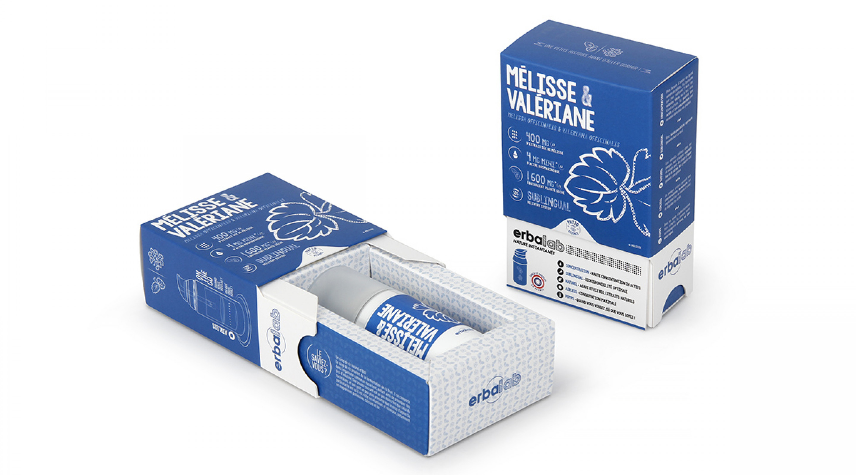 Erbalab Phyto Supplement Pump Packaging