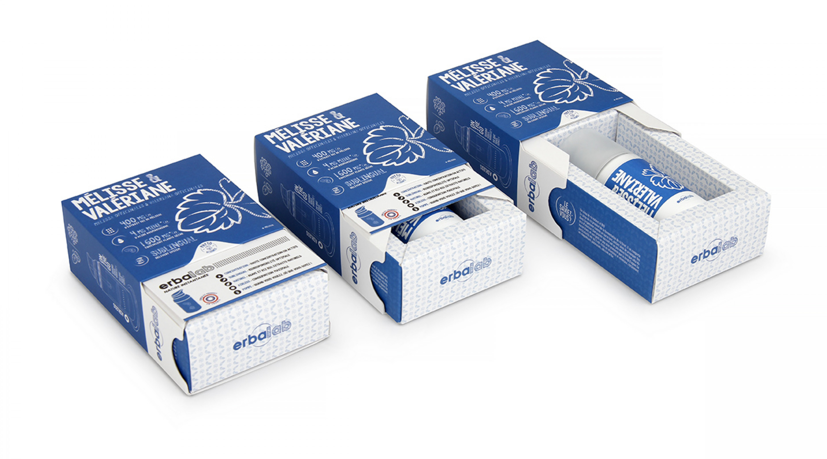 Erbalab Phyto Supplement Pump Sliding Packaging
