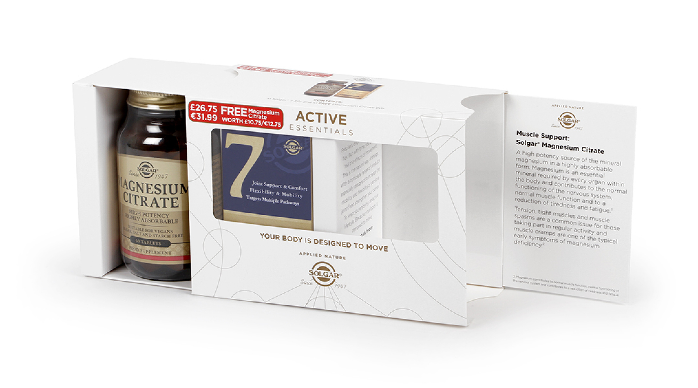 Solgar Active Essentials Supplements Bundle Packaging  Opening