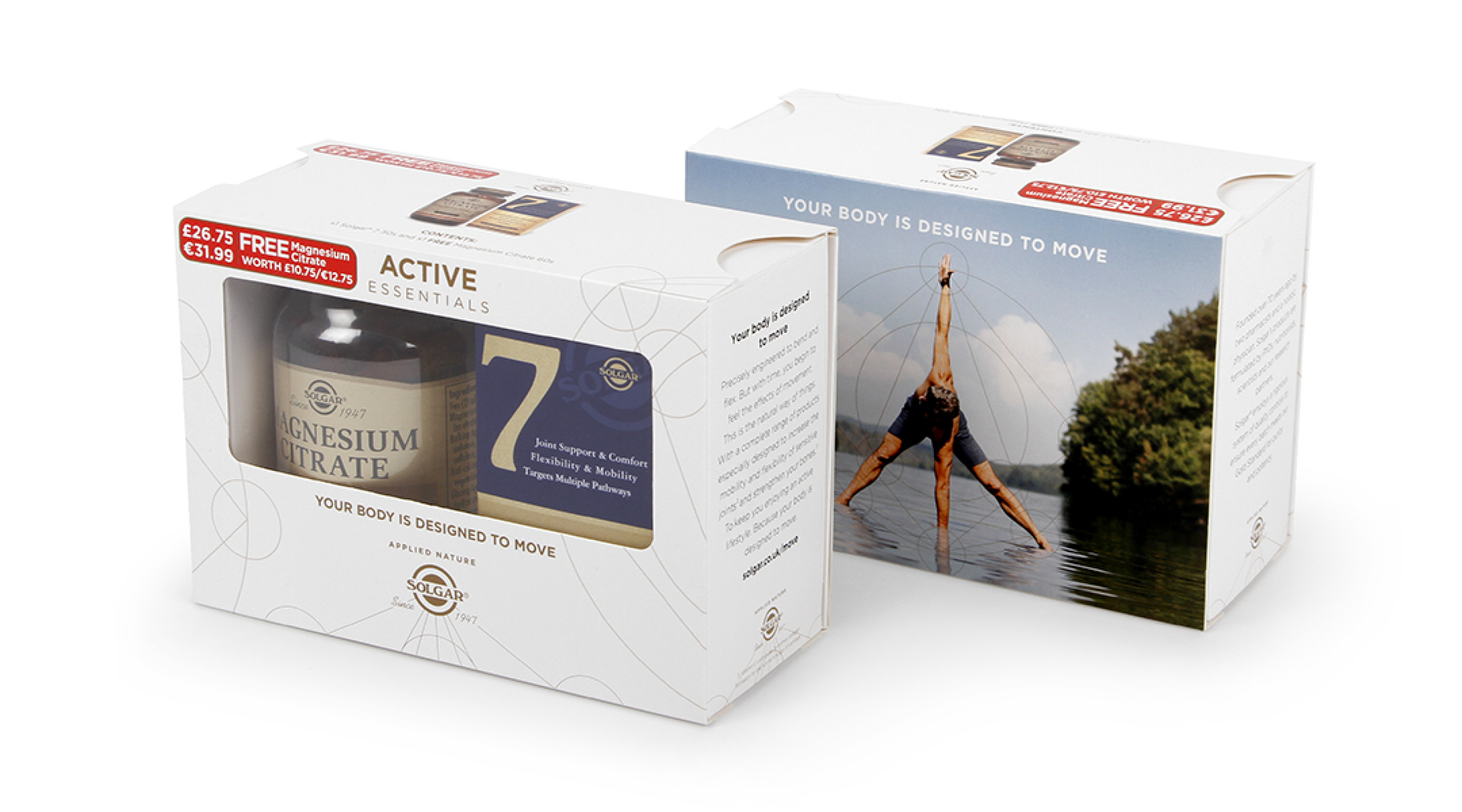 Solgar Active Essentials Supplements Bundle Packaging Closed