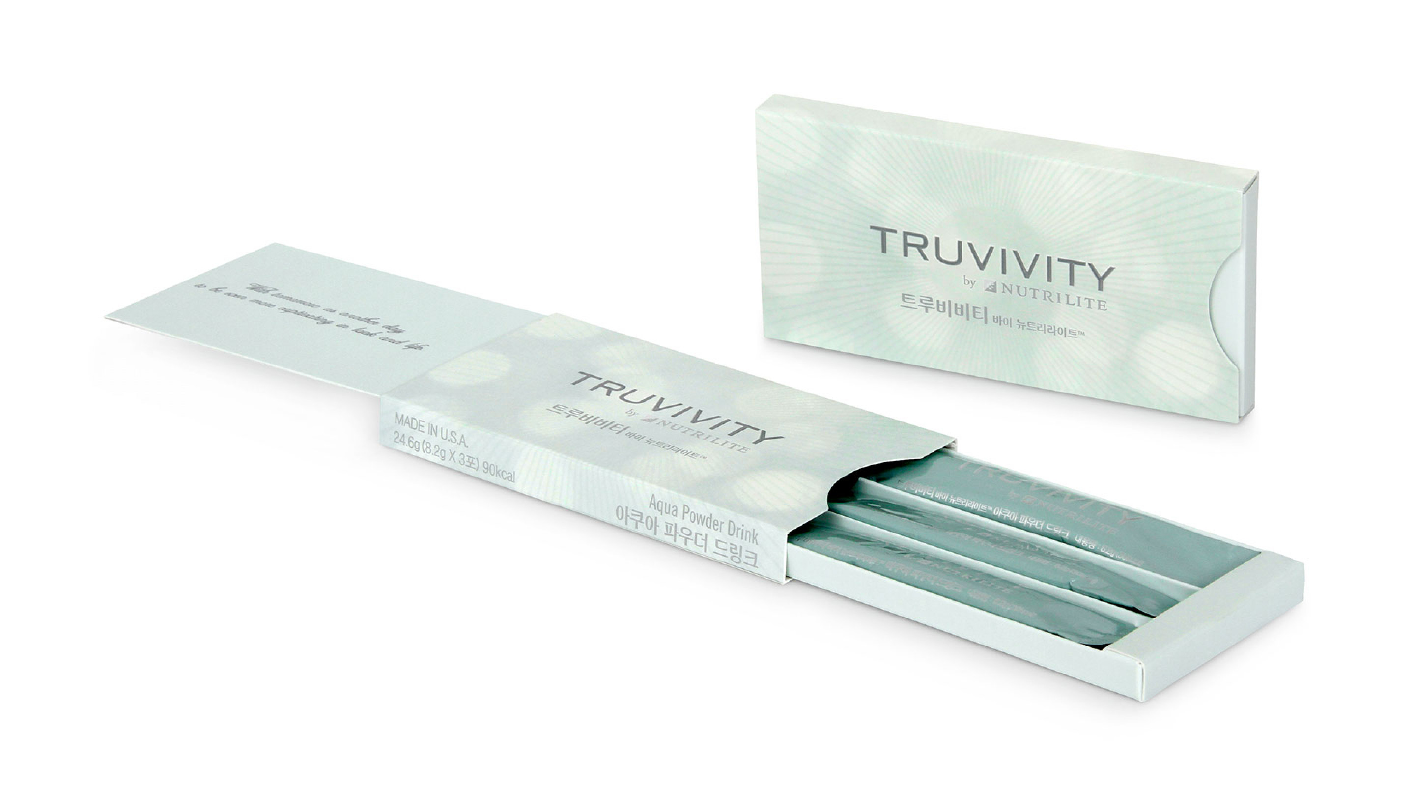 Amway Truvivity by Nutrilite Sachet Packaging
