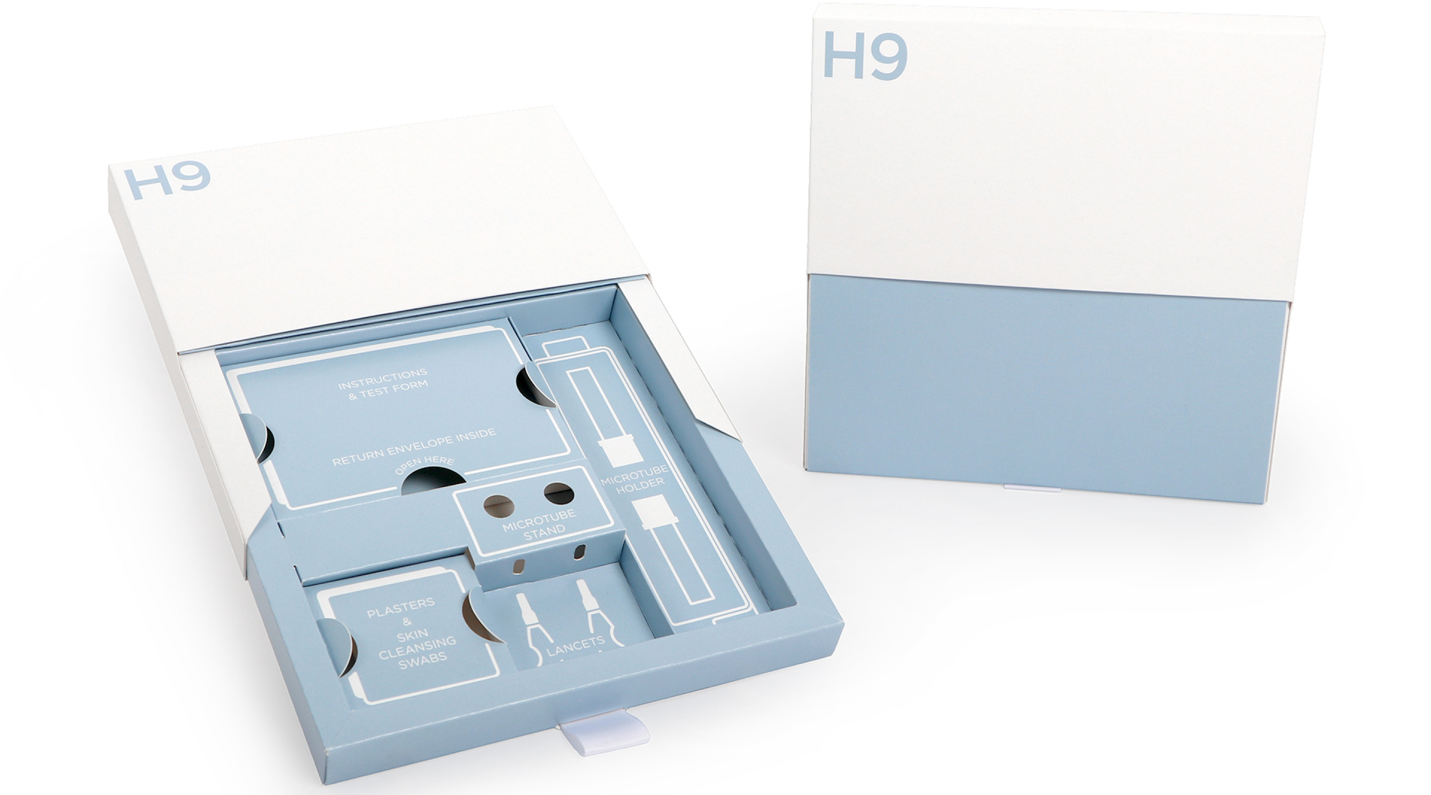 H9 Testing Kit Pack - NEW - Blood Test, Swabs & More