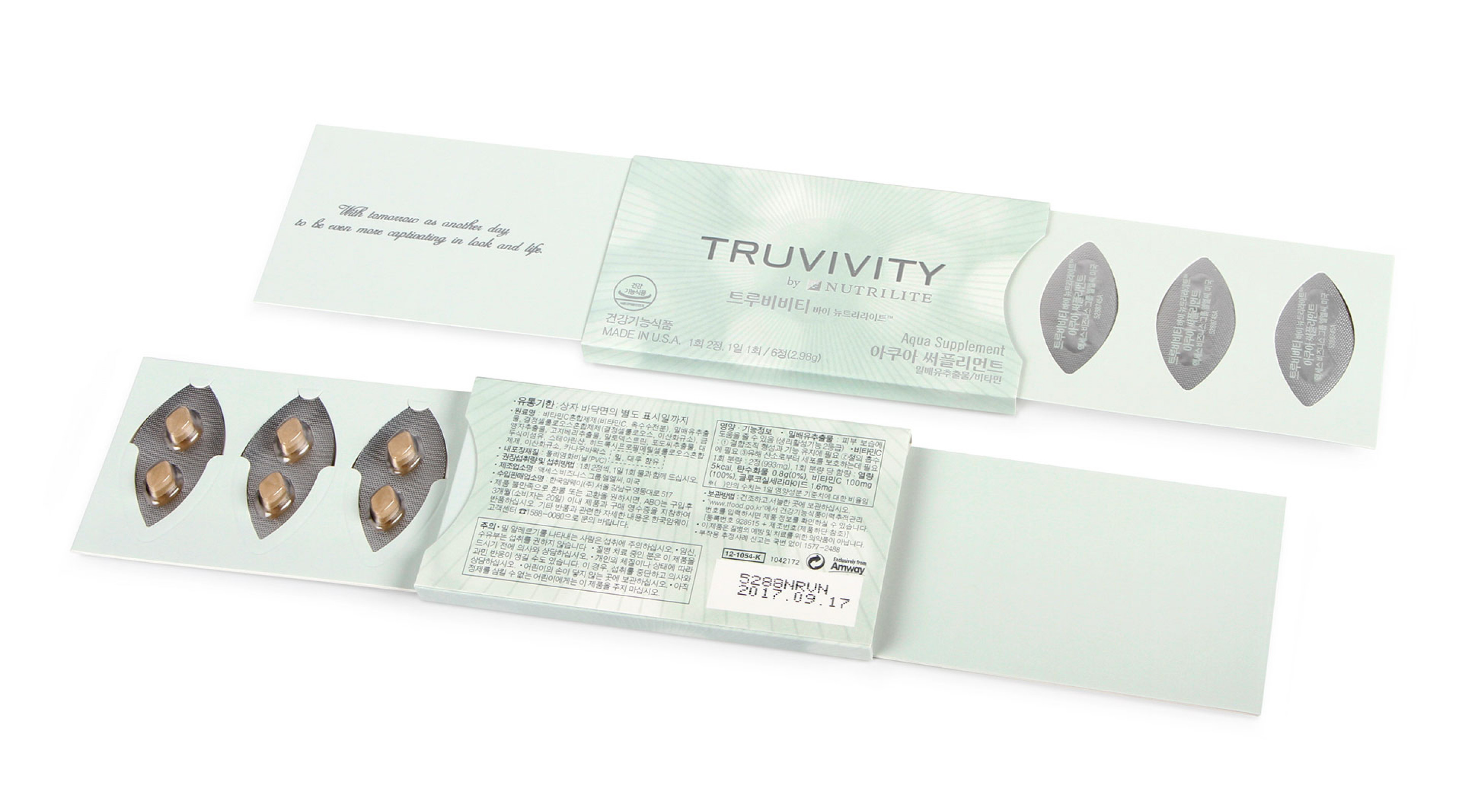 Amway Truvivity by Nutrilite Blister Packaging